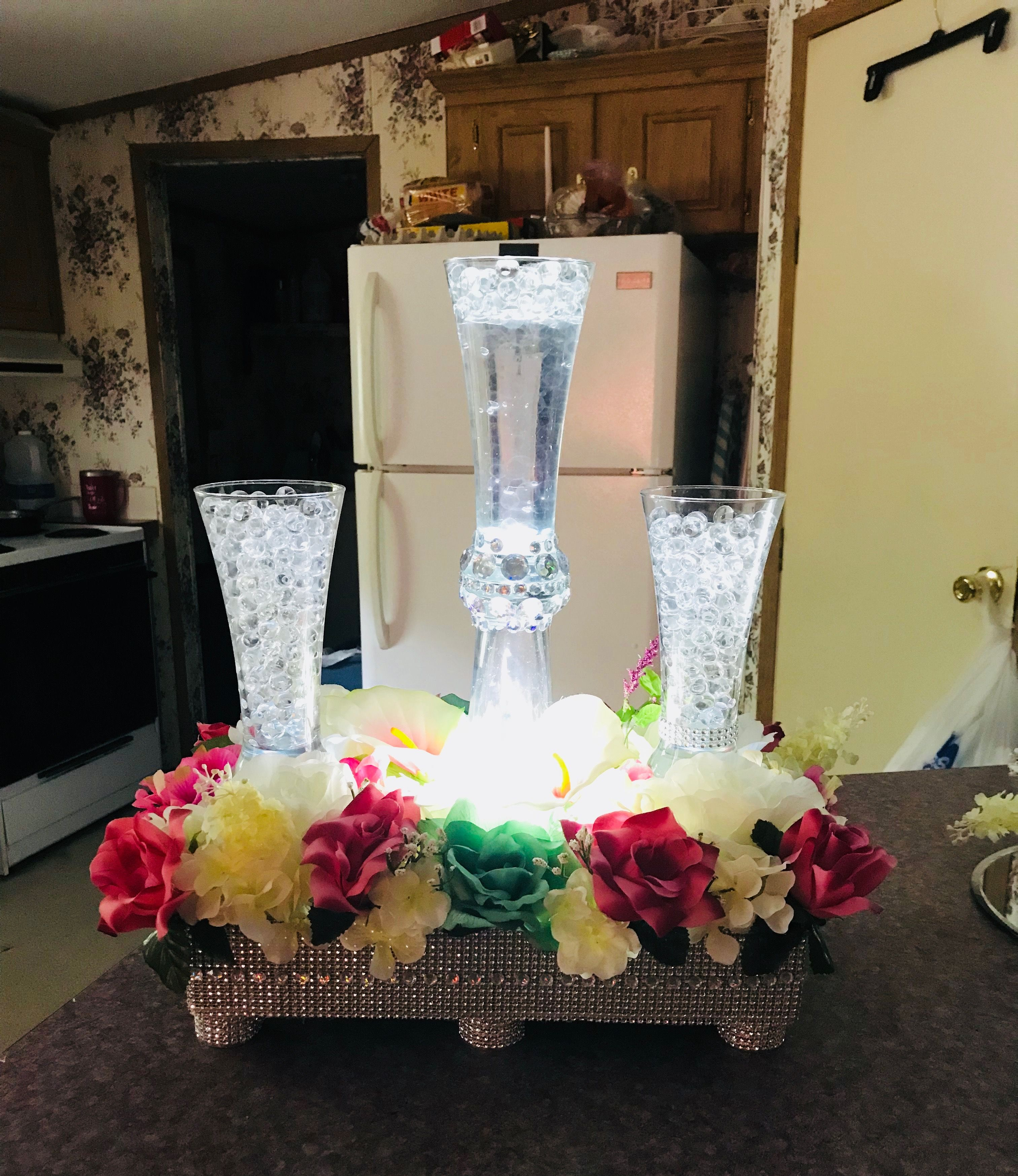 Cheap Wedding Table Centerpieces