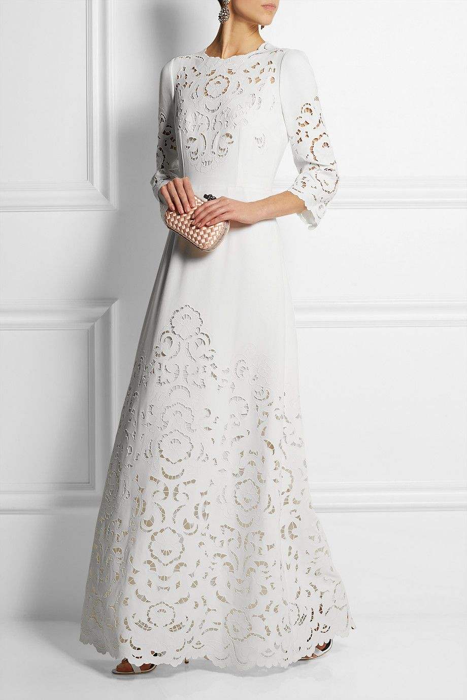de GabbanaFilet cr en Dolce robe TzqH0