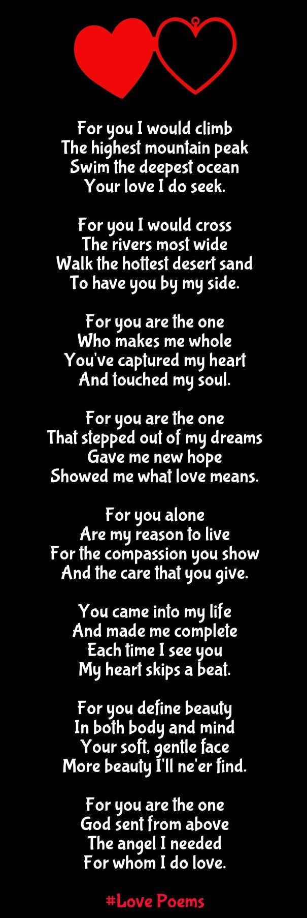 Long Love Quotes For Her Fascinating Really Long Love Poems For Her  Halloween Decorations  Pinterest
