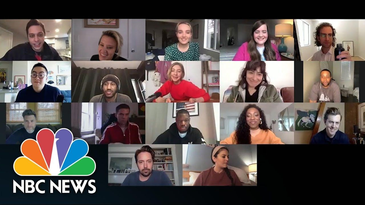 'Saturday Night Live' Cast Returns Via Zoom After Monthlong Coronavirus Hiatus | NBC News