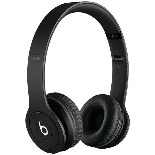 Beats Solo Matte Drenched On Ear Headphones Black Wish List