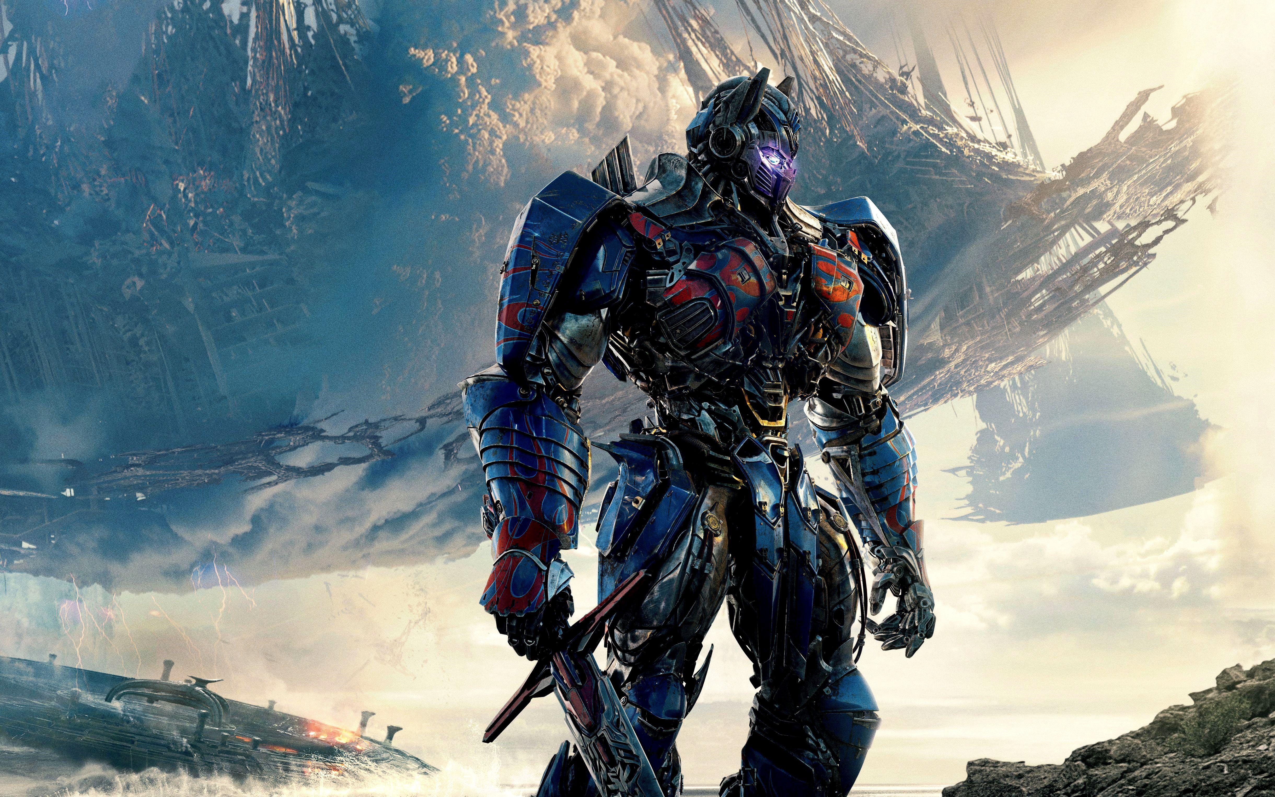 Wallpaper 4k Transformers 5 Gallery Optimus Prime Wallpaper Optimus Prime Transformers