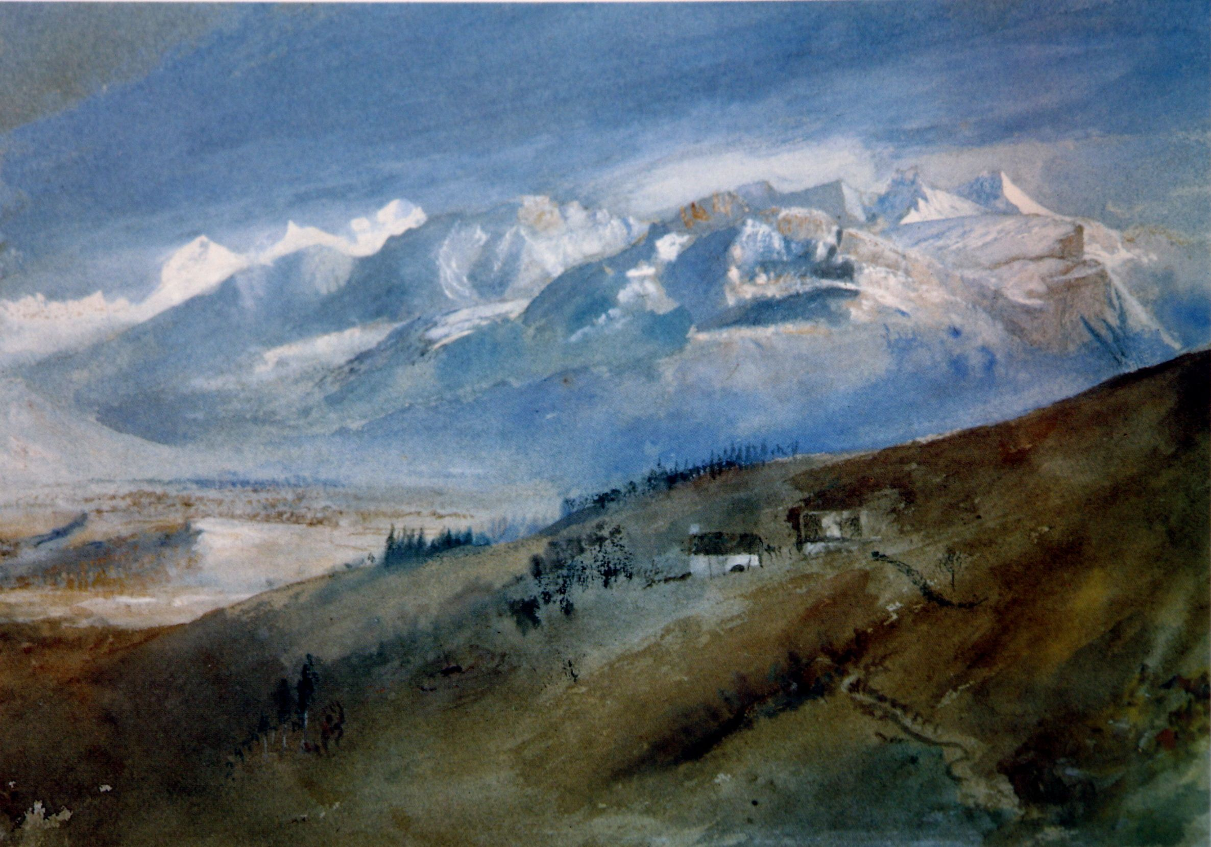 John Ruskin, View from my Window at Mornex, c. 1862-1863