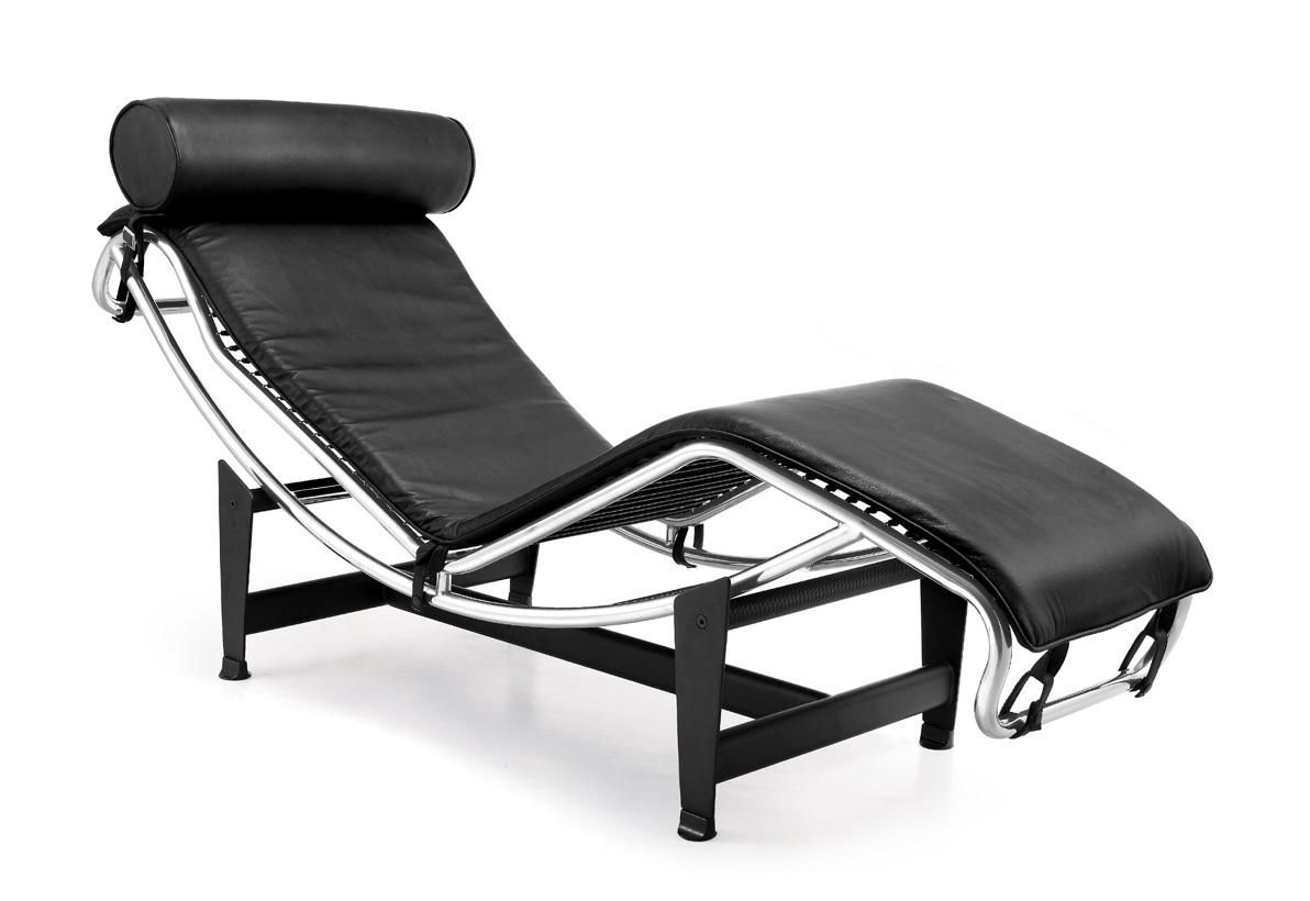 chaise longue by le corbusier 1925 industrial graphic. Black Bedroom Furniture Sets. Home Design Ideas