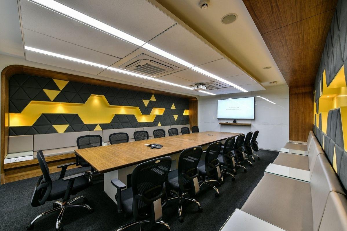 Tata Motors Offices Mumbai Office cabin design, Office
