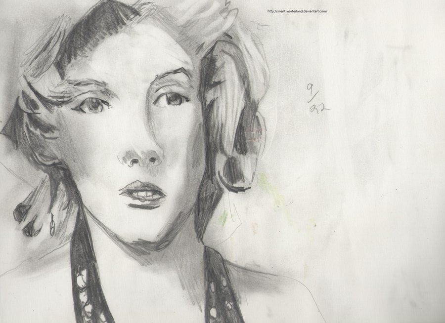 .:Marilyn Monroe again:. by *Silent-winterland on deviantART #MarilynMonroe #BadArt #Art