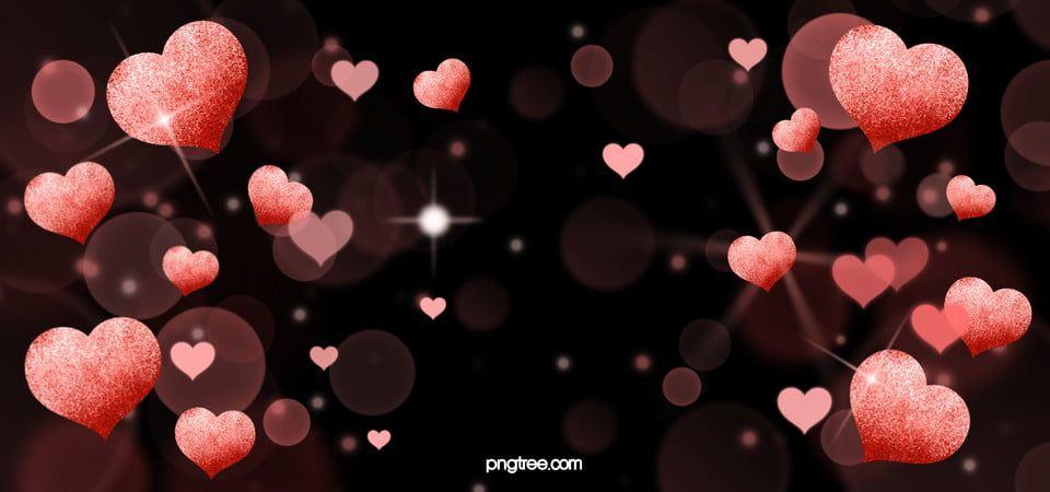 Pink Shiny Love Background Love Backgrounds Love Background Images Love Heart Illustration