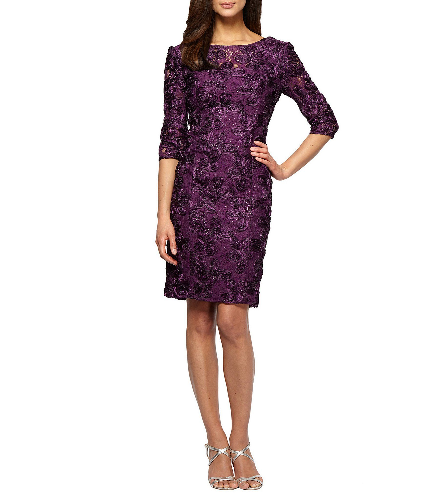 fd25b173ca9 Shop for Alex Evenings Rosette Sheath Dress at Dillards.com. Visit Dillards.com  to find clothing