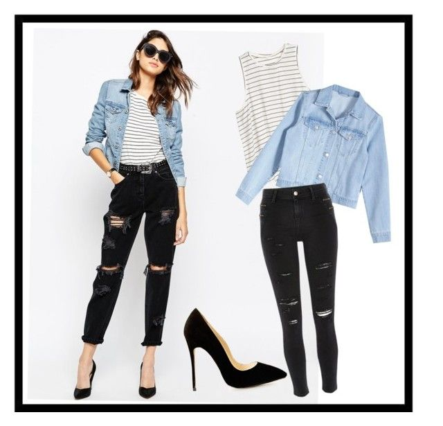 """""""Untitled #46"""" by ftowm ❤ liked on Polyvore featuring ASOS and River Island"""