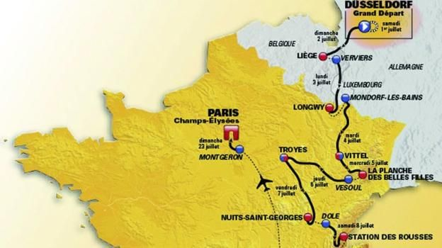 Tour de france 2017 how the race unfolded stage by stage tour de bbc sports rob hayles takes you through the 21 stages that make up this years tour gumiabroncs Gallery