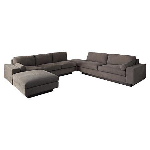 U-Shaped Sectional - Bassett Modern Comfort - U-Shaped Sectional  sc 1 st  Pinterest : thrive sectional - Sectionals, Sofas & Couches