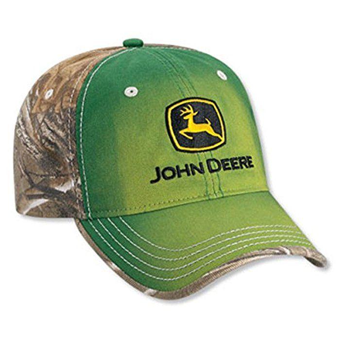 Mens John Deere Realtree Xtra Green Camouflage Hat Cap - LP52416 ... 14a5af1a4c49