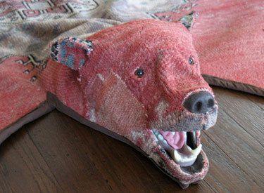 Cruelty Free Bear Skin Rug