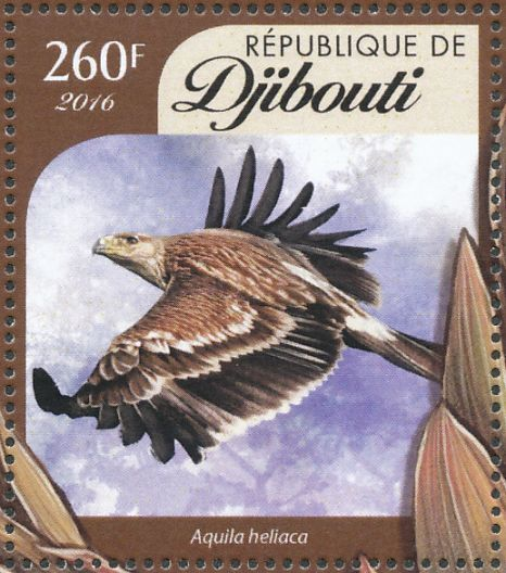 Eastern Imperial Eagle stamps - mainly images - gallery format
