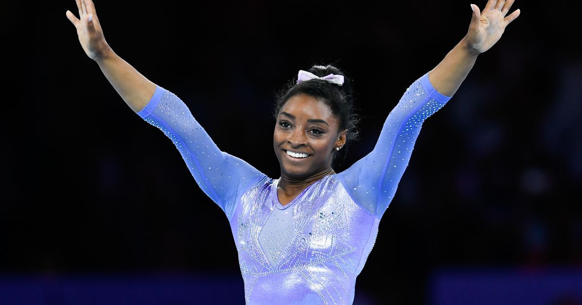 Simone Biles crowned female athlete of the year by Team