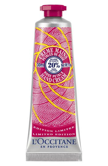 L'OCCITANE Shea Rose Petal Hand Cream | L'occitane, Hand
