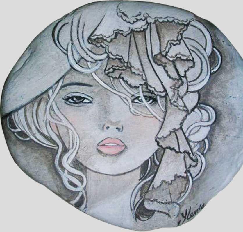 Sasso dipinto a mano sassi dipinti pinterest pietre for Sassi per tartarughe