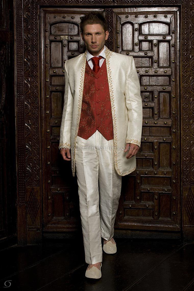 Item Code: MF06 | Men\'s Indian suits | Pinterest | Mens suits ...