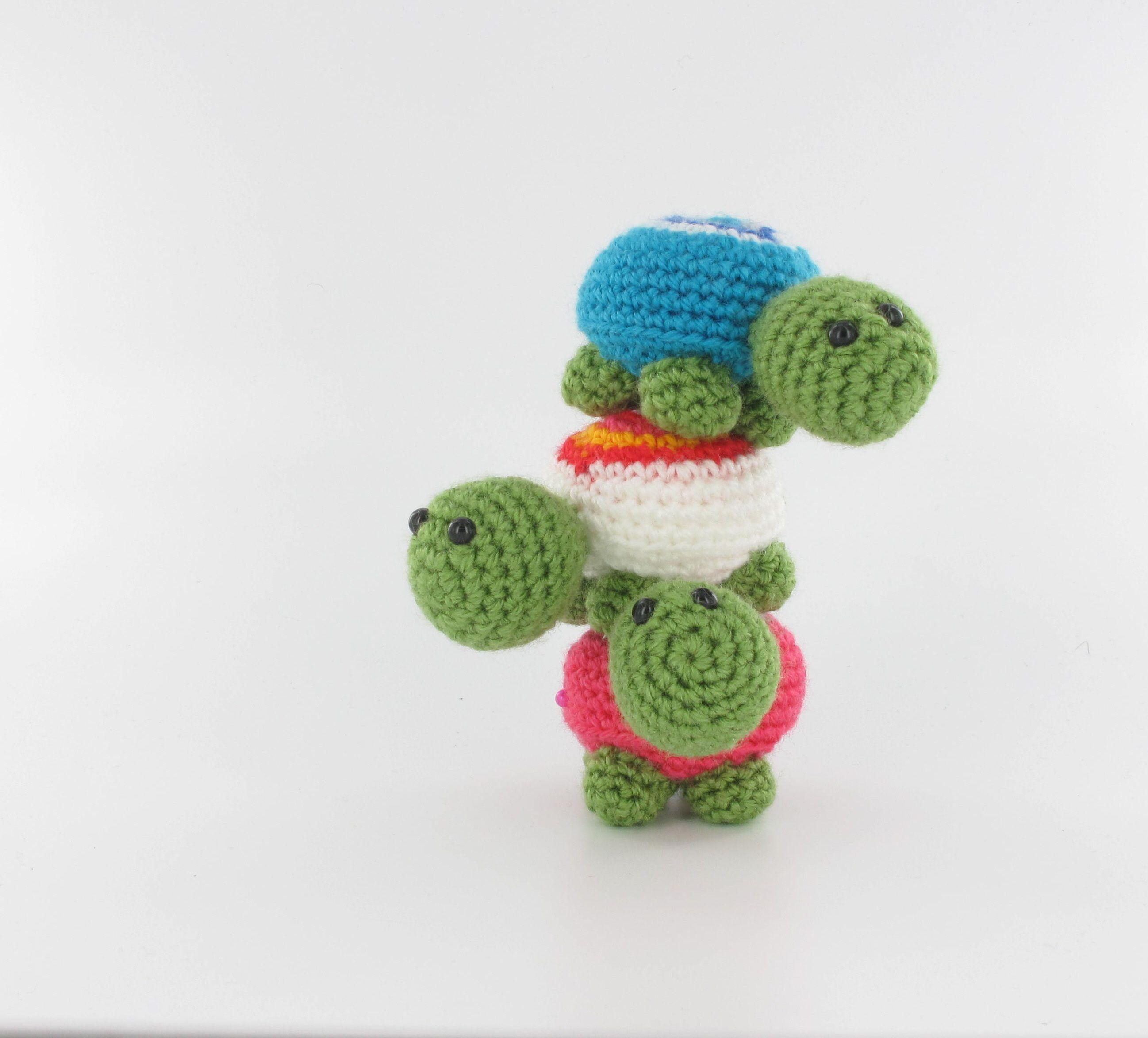 Little turtles from Woolytoons | CROCHET AMIGURUMI | Pinterest ...