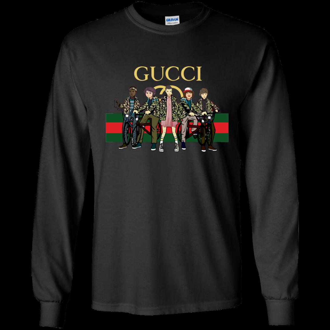 2e5b86f0d Gucci Stranger Things Best Selling T-Shirt | Stranger Things ...
