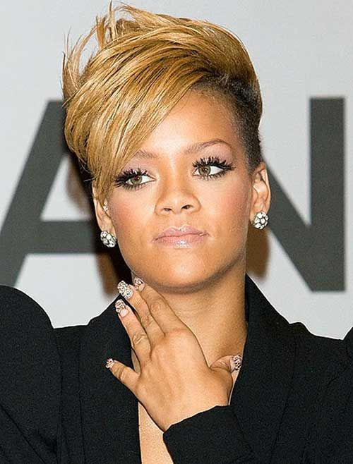 Image Result For Rihanna Blonde Hair With Images Rihanna Short