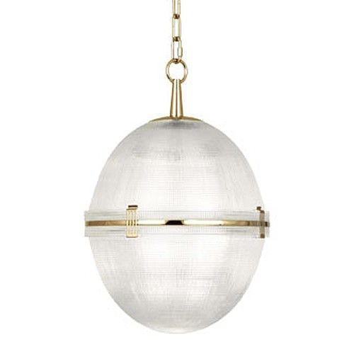 brighton pendant in brass by robert abbey lighting - Robert Abbey