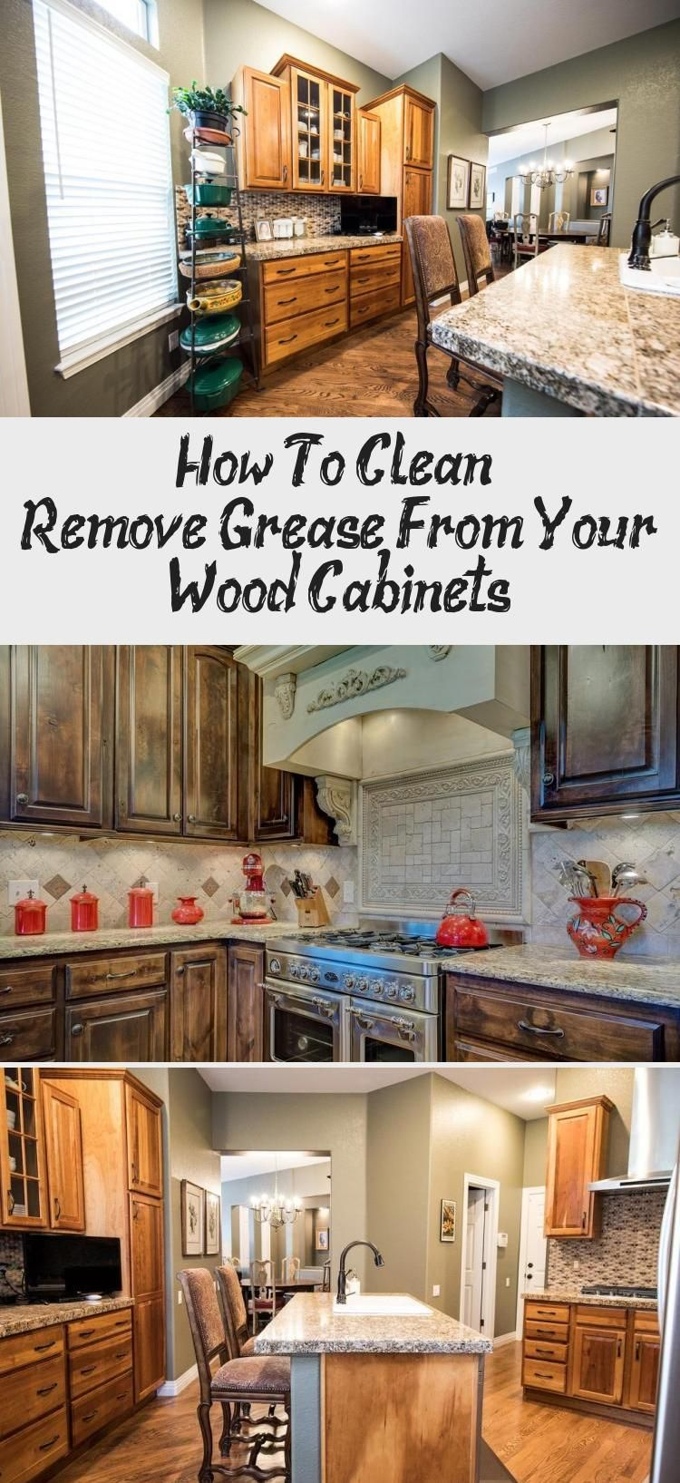 How to clean remove grease from your wood
