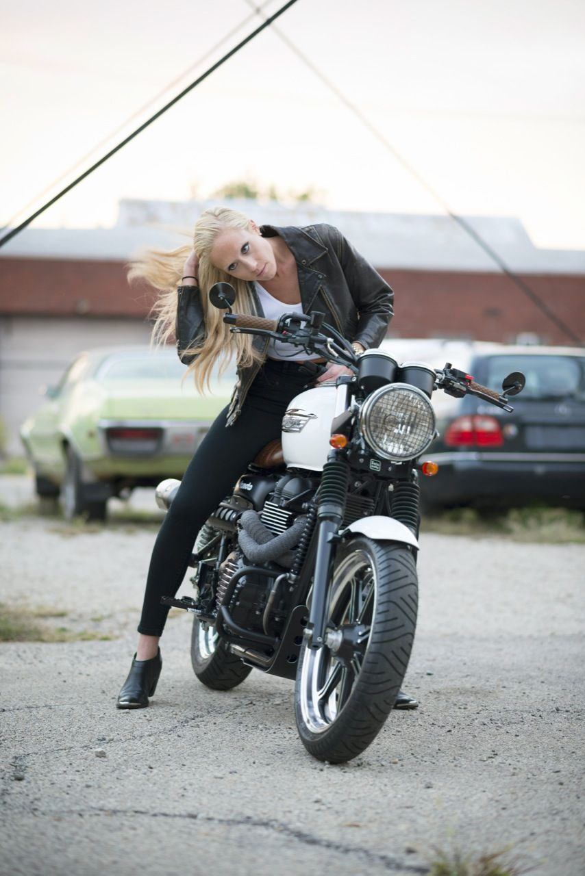 Salzmoto Scrambler Lady Rider Shoot Moto Lady Lady Riders Cafe Racer Girl Motorcycle Girl