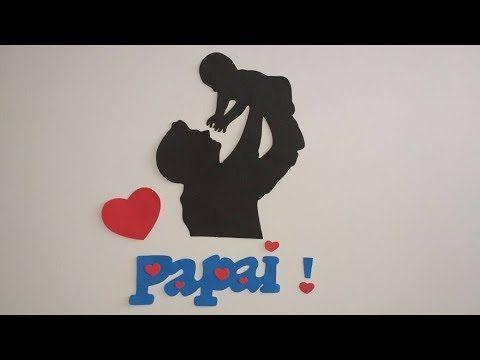 Painel Dia Dos Pais Criativos Em Eva Com Moldes Painel Dia Dos