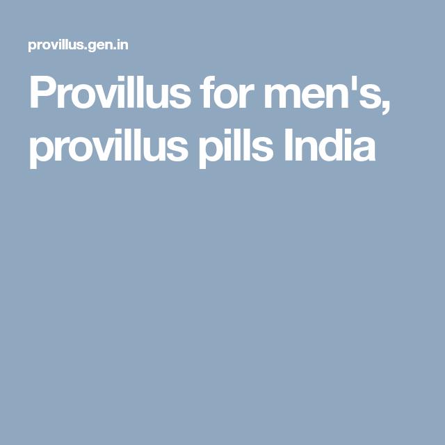 Provillus For Men S Provillus Pills India Pills Men