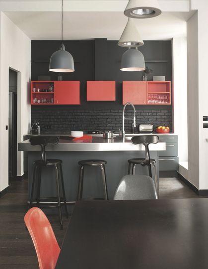 Rénovation  appartement de 200 m2 à Paris place république Côté