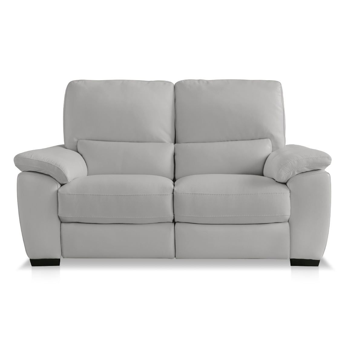 Washington Recliner 2 Seat Leather Sofa Silver Grey Leather Sofa Sofa Furniture