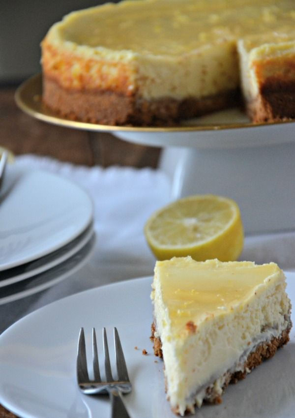 Lemon Cheesecake Recipe Lemon Cheesecake Recipes Cheesecake Recipes Cheesecake