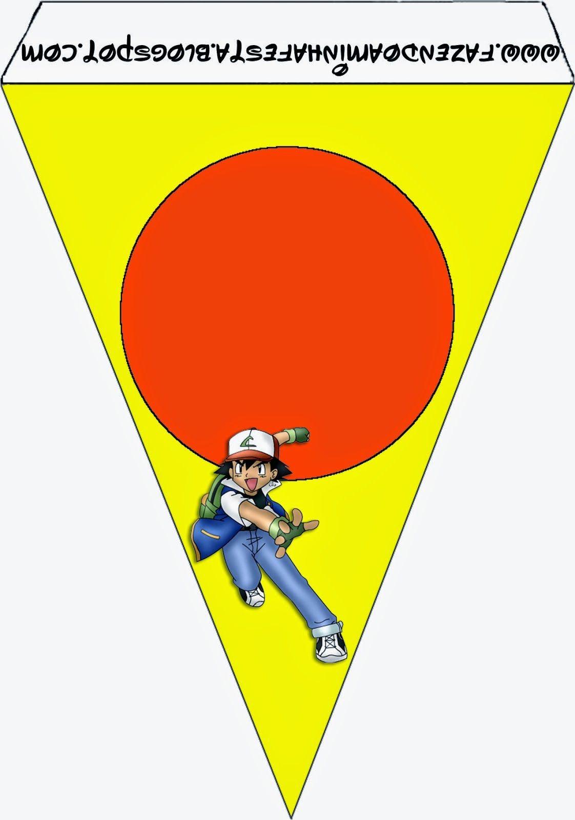 Pokemon: Imprimibles, Imágenes y Fondos Gratis para Fiestas.