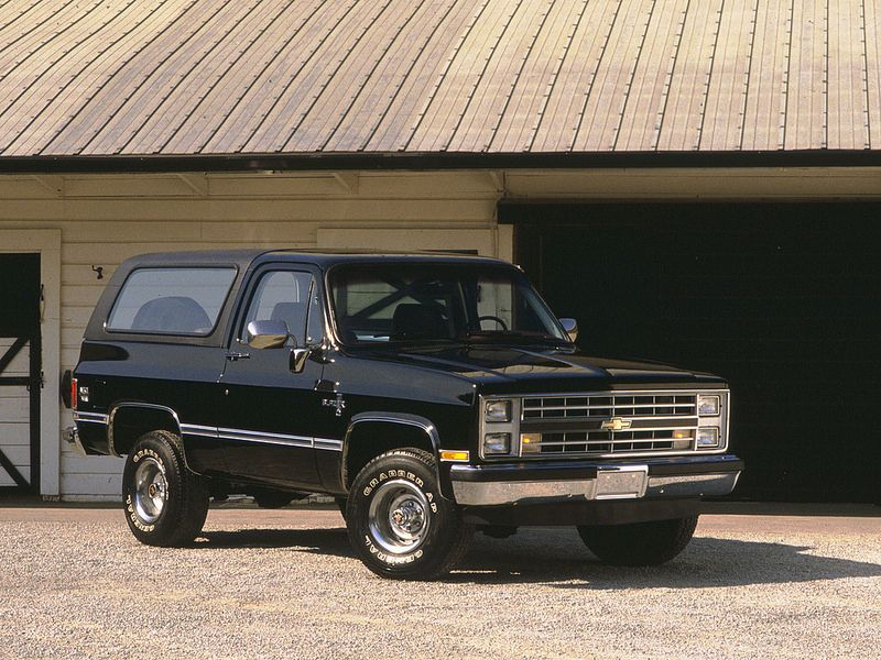 Chevrolet K5 Blazer from 1985. | cool autos | 87 chevy ...