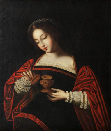 Erddig © National TrustThe Magdalen  after Ambrosius Benson (Lombardy c.1495 – Bruges c.1550) National Trust Inventory Number 1151334 Category 	Paintings Date 	1500 - 1599 Materials 	Oil on canvas