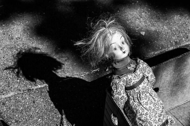 Image result for fotos assustadoras de crianças