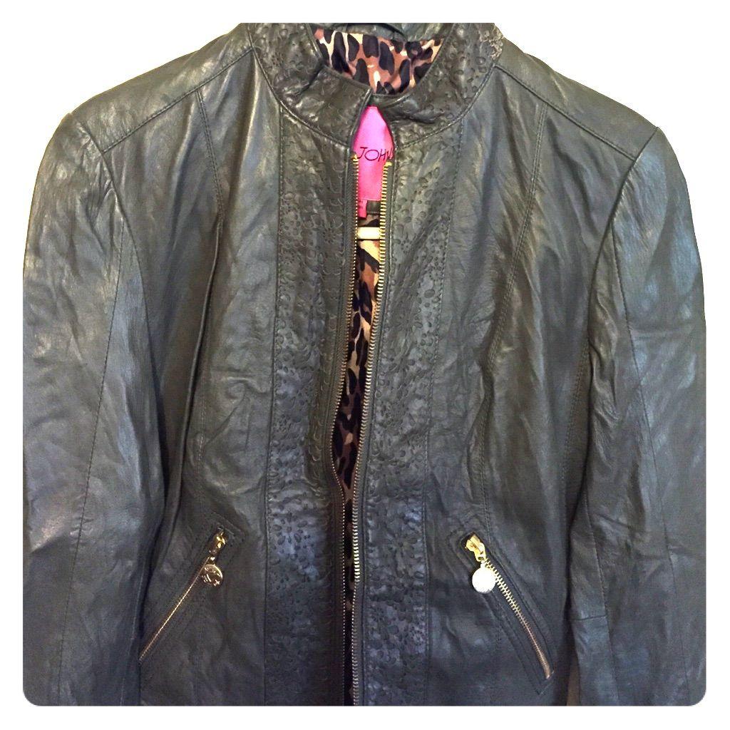 Betsy Johnson Leather Jacket