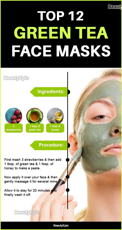 green tea face mask: benefits + top 12 diy recipes | green