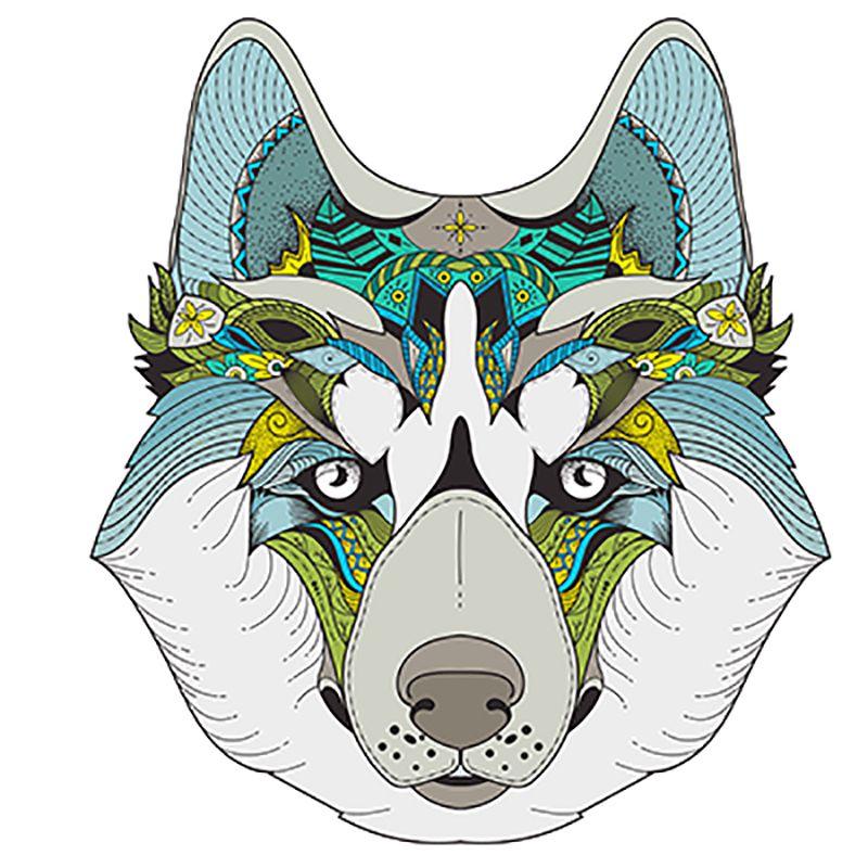 تصميمات جاهزة للطباعة على التىشيرتات Dog Sketch Illustrations Posters Vector Free