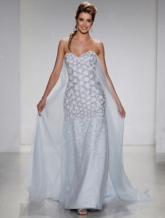 DISNEY Alfred Angelo Bridal, Style 251 ELSA. #BestForBride | Wedding ...