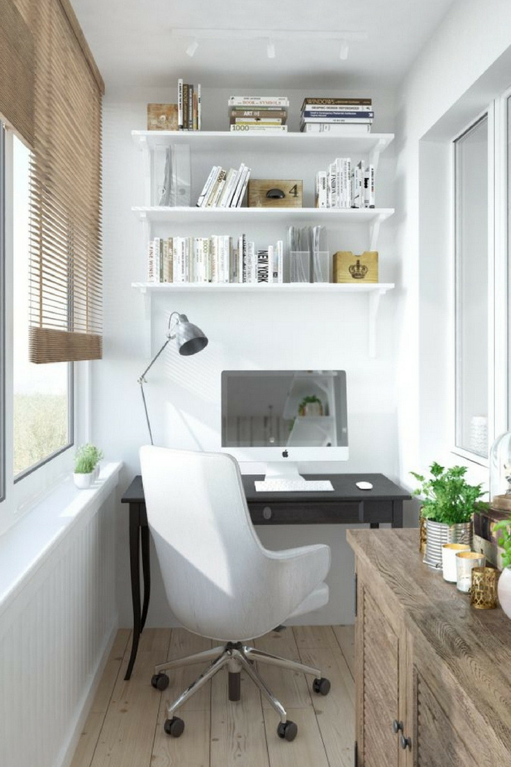. Five Design Ideas for a small Moscow Study Area   Scandinavian