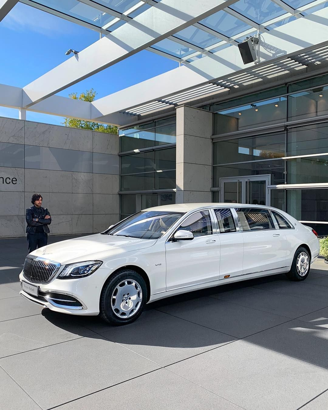 The Newly Updated 2019 S650 Maybach Pullman @rokenr On