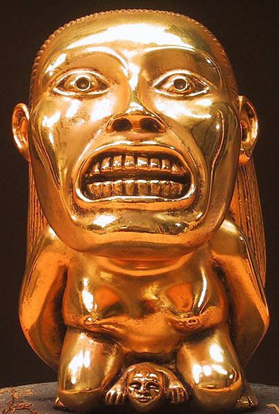 Indiana Jones Raiders Of The Lost Ark Golden Fertility Idol