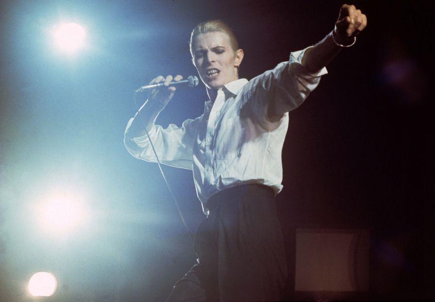 David Bowie, Rotterdam Ahoy 1976. PH Gijsbert Hanekroot BLOUIN ARTINFO