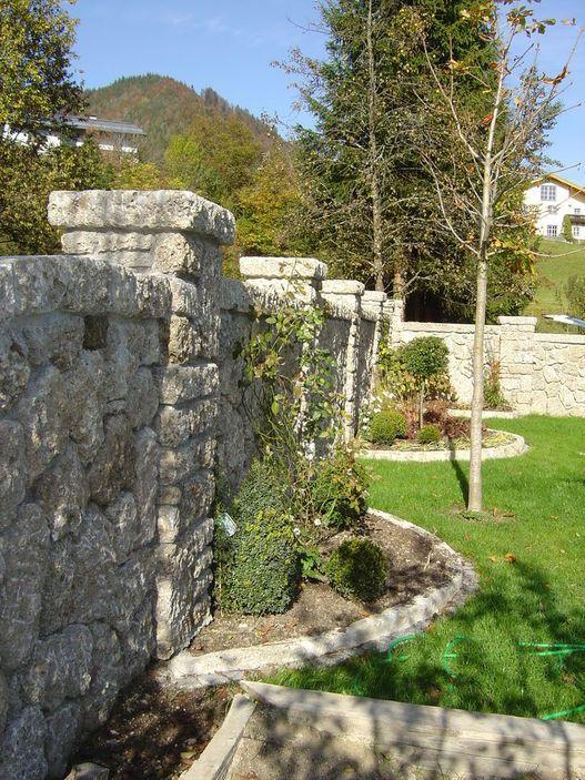 Gartengestaltung mit Naturstein - Gartengestaltung - Naturstein in - gartenideen mit naturstein