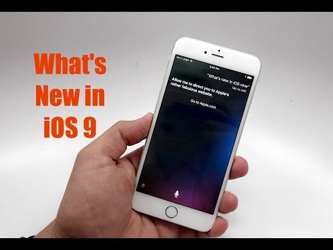 iOS 9 Walkthrough - What's New in iOS 9 - YouTube