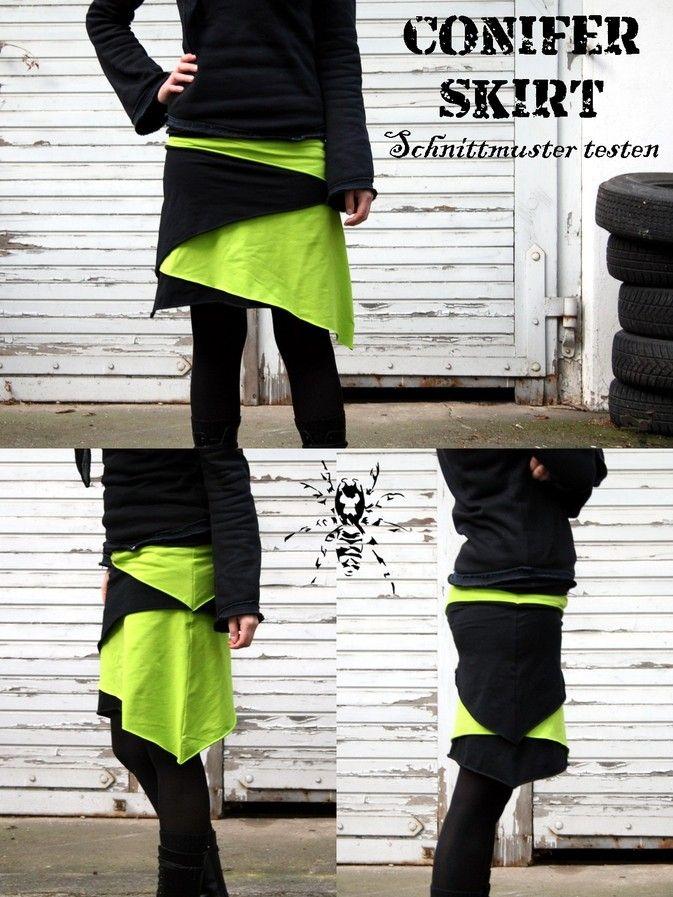 Conifer Skirt - Schnittmuster testen - von SeamstressErin Designs T ...