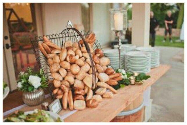 Wedding food set up