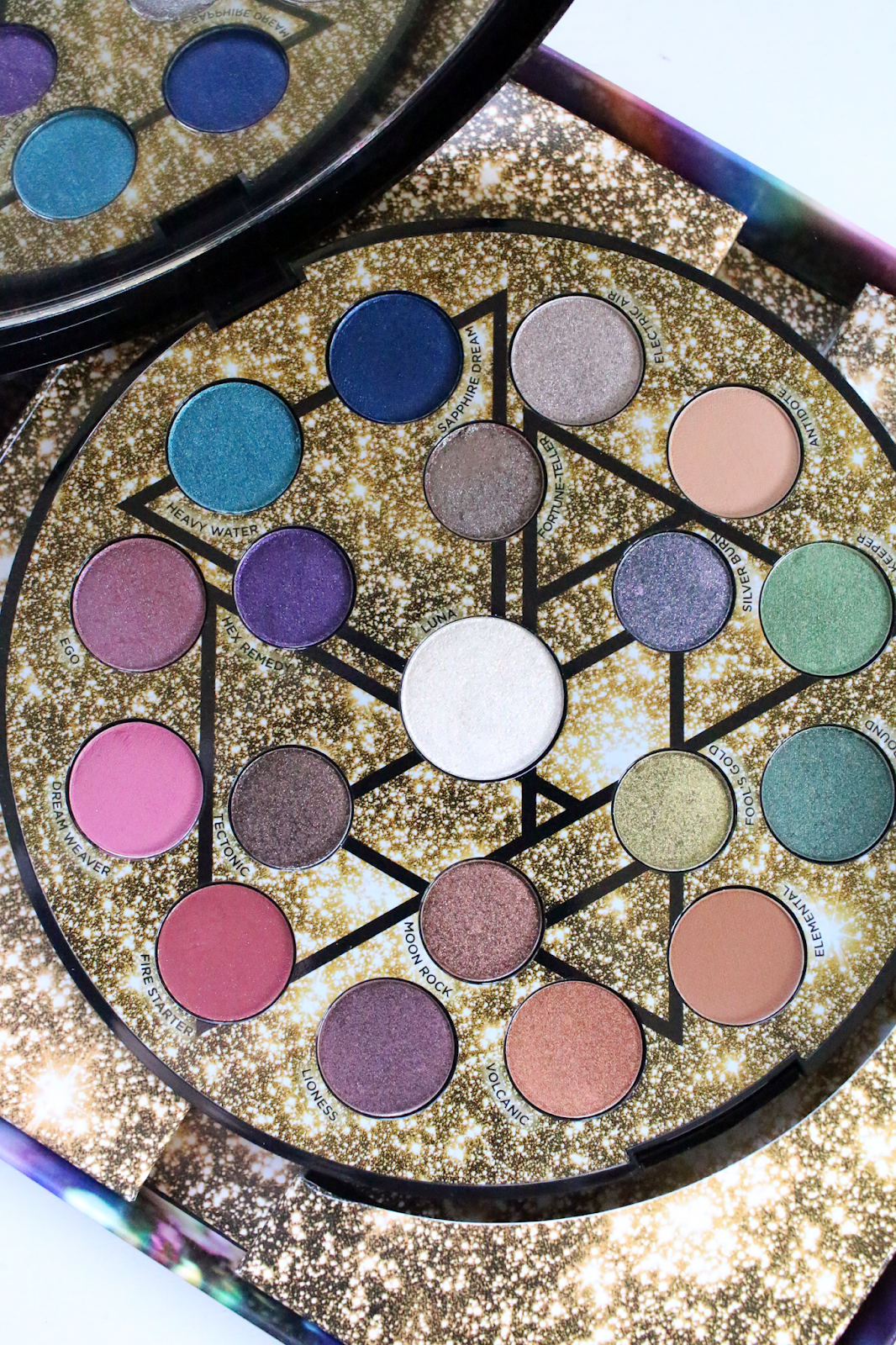 New Urban Decay Elements Eyeshadow Palette Review